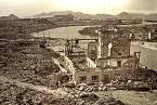 Hirošima po výbuchu atomové bomby v roce 1945