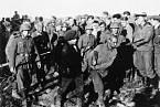 Zajatí partyzáni na východní frontě