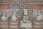 Pitím vína šlechtic vyjadřoval svůj vyšší stav.