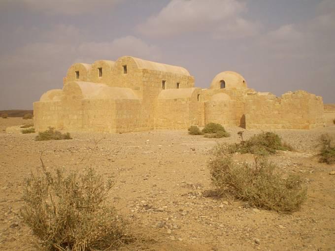 Kusajr Amra skrývá fresky, které jsou na seznamu UNESCO.