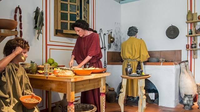Otrokyně ve starém Římě byly vlastně služky...