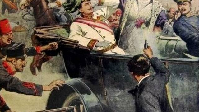 Atentát na následníka trůnu Františka Ferdinanda d´Este