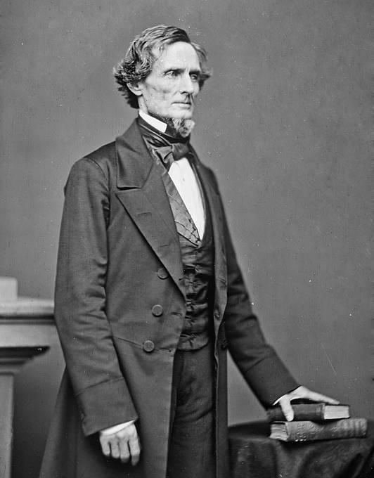Jižanský prezident Jefferson Davis