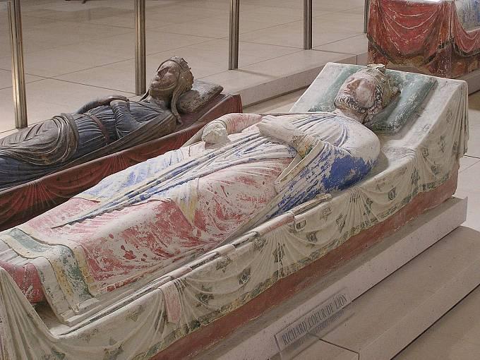 Richard I. Lví srdce: hrobka ve Francii