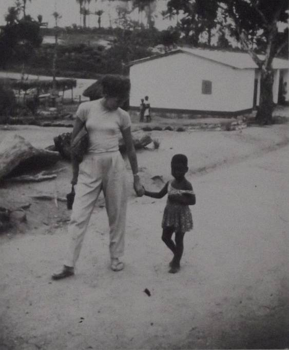 Při pracovním pobytu v Africe