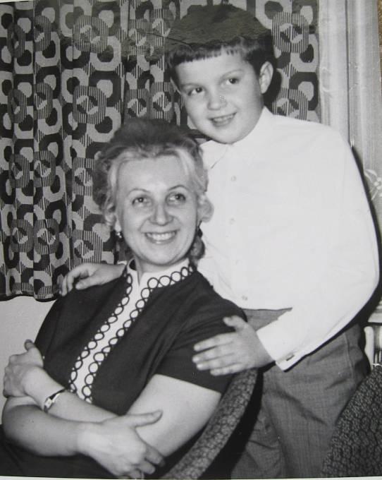Dana Vargová se synem Juliem v době kdy byl ještě zdráv