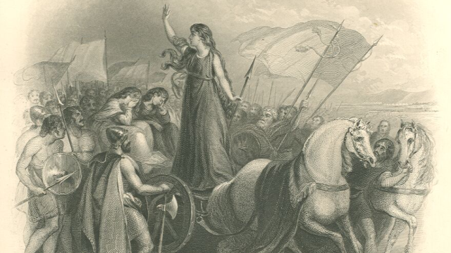 Keltská královna Boudicca