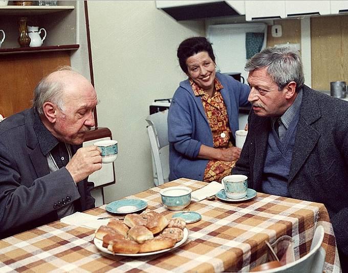 František Filipovský, Dana Medřická a Martin Růžek