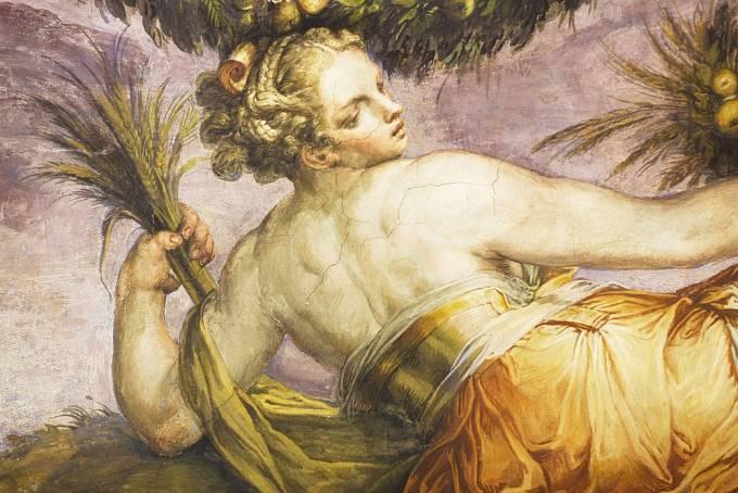 Prohřešky vdaných žen se trestaly přísně (na obrázku freska z paláce Vecchio ve Florencii)