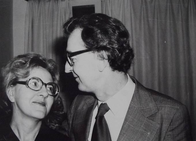Pamětnice s manželem Erichem Heroldem
