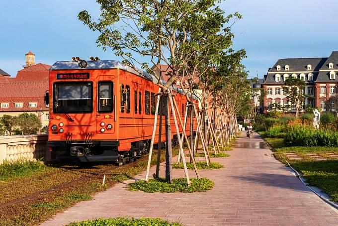 Nový kampus firmy Huawei v čínském Tung Kuanu kopíruje architekturu evropských měst