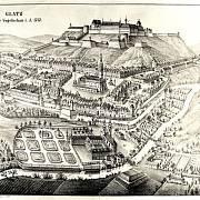 Město a pevnost Kladsko v roce 1737