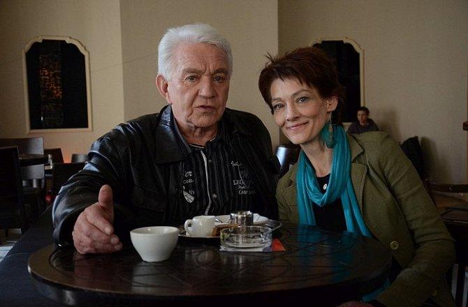 Jiří Krampol a Monika Kvasničková kdysi bývali milenci