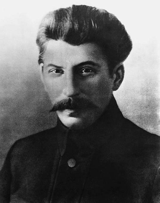 Josif Vissarionovič Stalin v roce 1917