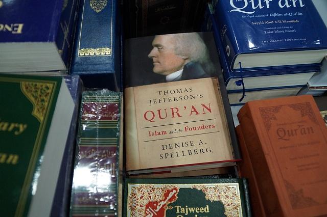 Na muslimském knižním veletrhu vUSA