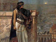 Královna Zenobia na obrazu Herberta Schmaltze