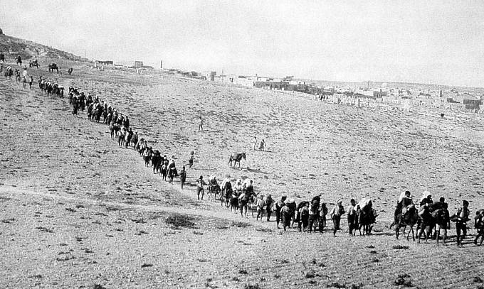Armenská genocida (1915-1918) / Uprchlíci