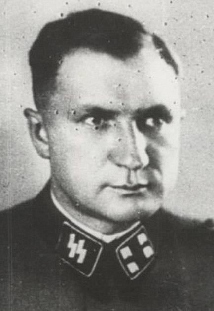 Richard Baer velel Březince v roce 1944.