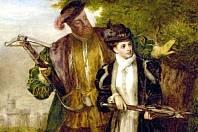 Král Jindřich VIII se svou ženou Annou Boleyn