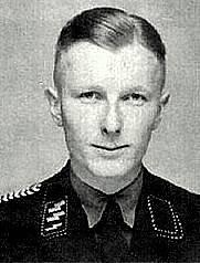 Velitel SS Adolf Diekmann odpovědný za vraždění v Oradour-sur-Glane