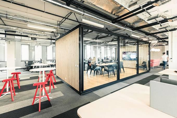 Nové kanceláře vývojářské firmy STRV v pražském Karlíně
