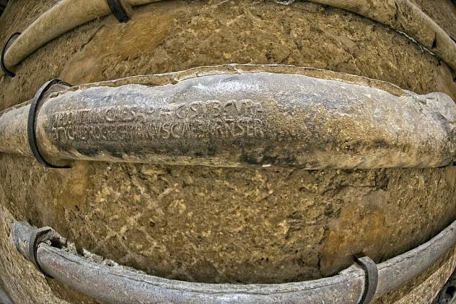 Olověné trubky římského vodovodu