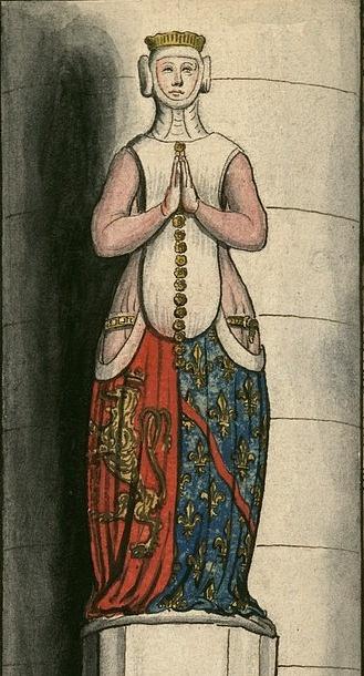 Beatrix Bourbonská, manželka Jana Lucemburského