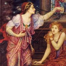Královna Eleonora a Rosamunda Clifford