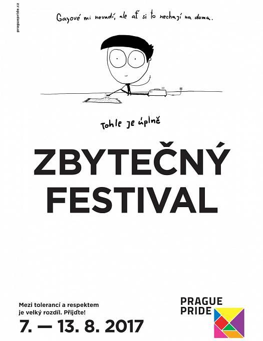 Kampaň festivalu Prague Pride 2017 od agentury Made by Vaculik