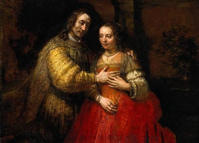 Rembrandt van Rijn: Židovská nevěsta, 1667