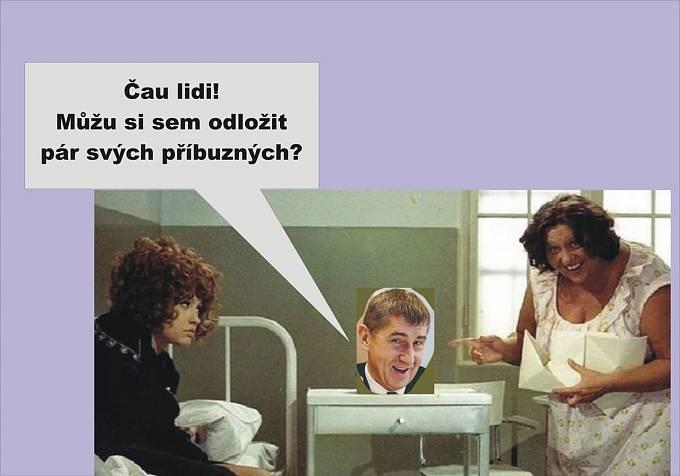 Andrej Babiš řeší nerudovskou otázku, kam s ním