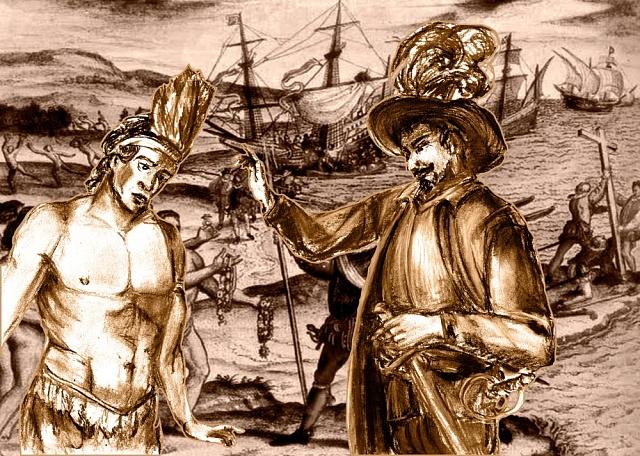 Španělé řešili otázku, zda jsou Indiáni vůbec lidské bytosti.