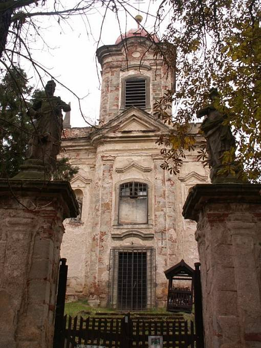Kostel sv. Maří Magdalény v Bílenci na Lounsku