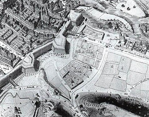 Oblast zvaná Poříč kolem roku 1800