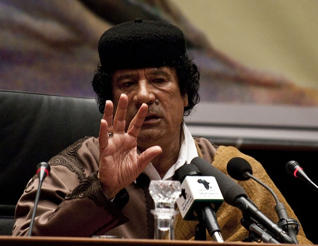 Kaddáfí si své Amazonky brak ina státnické návštěvy