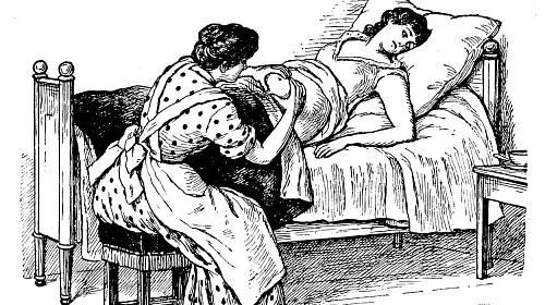 Od počátku středověku byly potraty zakázány, prováděly je proto porodí báby...