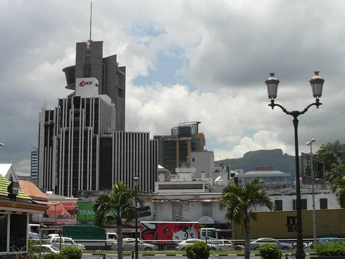 Moderní centrum hlavního města Port Louis
