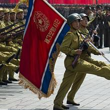 Vojenská přehlídka v KLDR