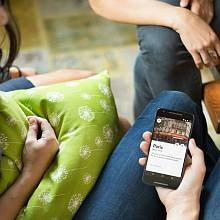 Mobilní aplikace startupu Airb'n'b