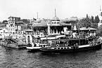 Čtvrť Beşiktaş na archivním snímku