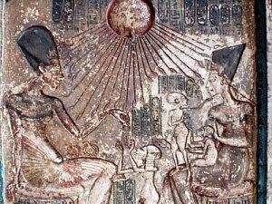 Egyptský faraon Achnaton