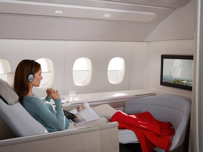 Air France a jejich představa o pohodlí a relaxu vysoko nad zemí