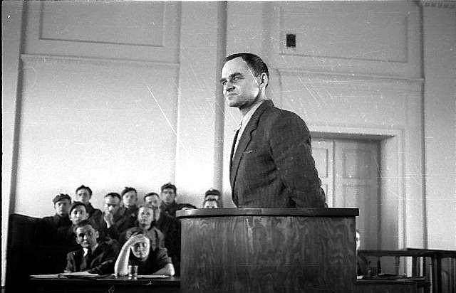 Witold Pilecki usoudu, březen 1948