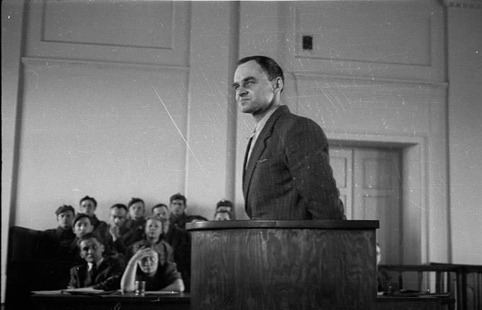 Witold Pilecki u soudního procesu
