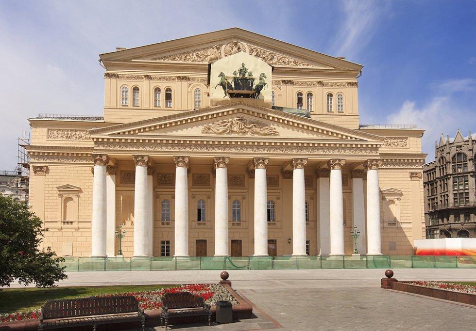 Velké divadlo v Moskvě neboli Bolšoj těatr je domovskou scénou nejstaršího baletního souboru, tzv. Velkého baletu, jehož historie sahá až do roku 1773.