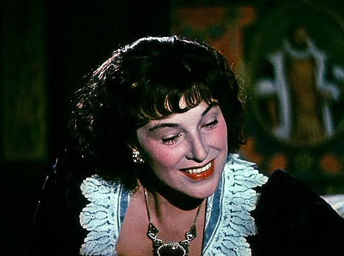 Marie Vášová v roli Kateřiny Stradové