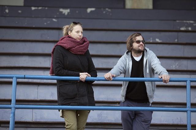 Autoři filmu FC Roma, režiséři Rozálie Kohoutová a Tomáš Bojar