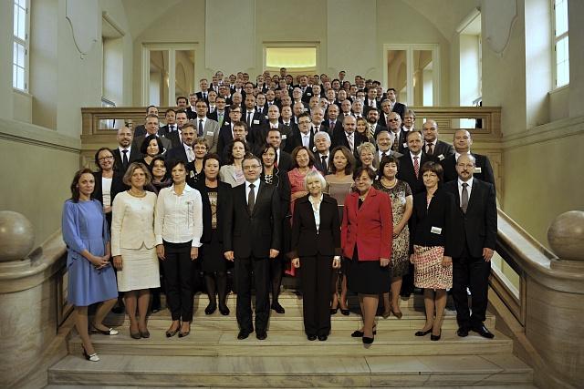 Velvyslanci se letos jako každý rok sešli vPraze vČernínském paláci.