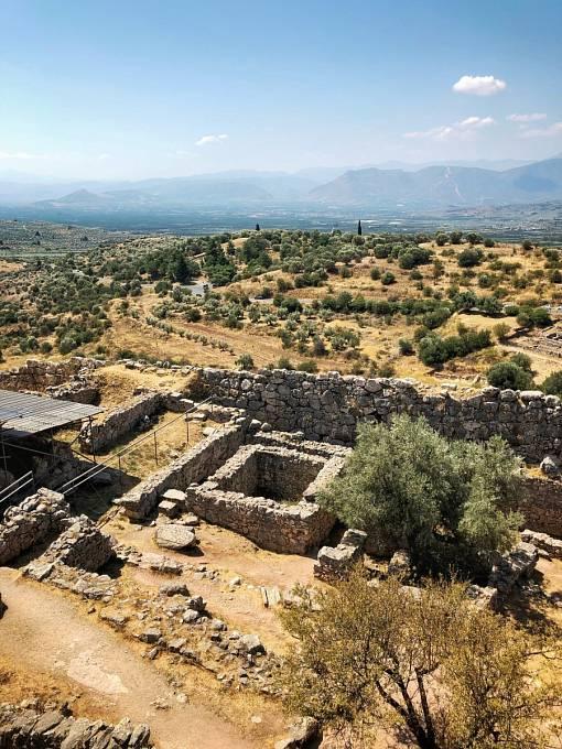 Mykény - archeologické naleziště