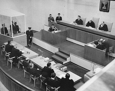Soud s Adolfem Eichmannem
